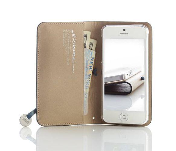 iPhone 5 Leather Wallet - Tech - Shops Uncovet