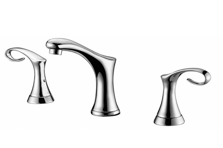 Double Handle Deck Mounted Faucet Products Pinterest