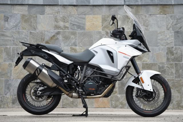 Roughing It in This Big Adventure Bike Will Make You Feel Invinci: The 2015 KTM 1290 Super Adventure.