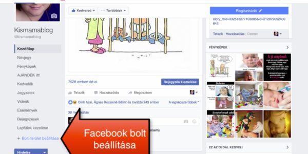 Így állítsd be a Facebook boltodat 5 perc alatt: | tANYUlj és gazdagodj!