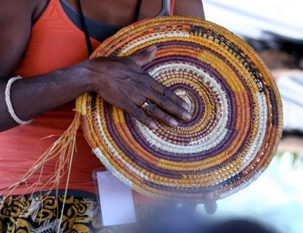 Garma basket weaving