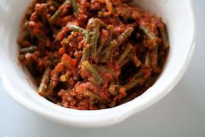 Spicy bønner