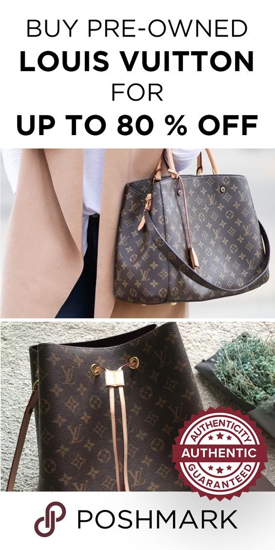 7c3ee103dc2f Find amazing deals on authentic Louis Vuitton bags! Download Poshmark now  to start shopping and saving.
