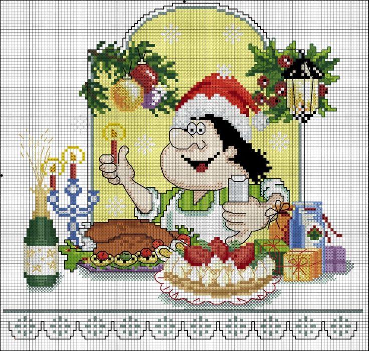 Chef navidad