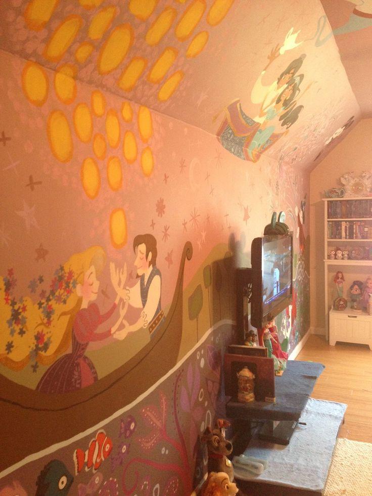 75+ Fantastic Ideas For Disney Inspired Children's Bedroom http://philanthropyalamode.com/75-fantastic-ideas-disney-inspired-childrens-bedroom/