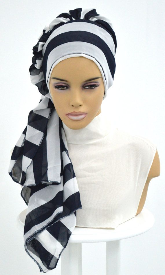 Ready To Wear Hijab Code: D 10 Hijab Muslim Women by HAZIRTURBAN