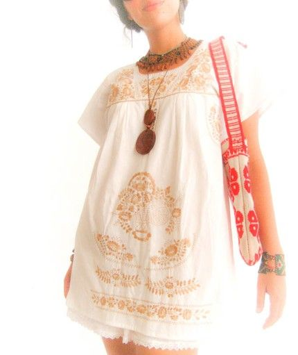 LoveFashion, Things Summer, Summer Outfit, Vintage Bohemian, Bohemian Summer, Vintage Wardrobe, Hippie Style, Boho Style, Spanish Summer Dresses