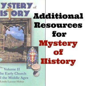Free and frugal additional resources to easily implement with Mystery of History #ihsnet
