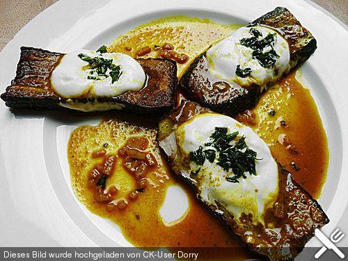 Gebratene Zucchini Persische Art