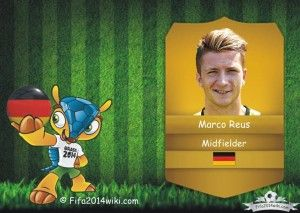 Marco Reus - Germany Player - FIFA 2014