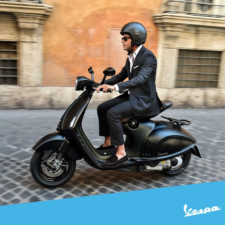 Today we celebrate the #SuitUpDay in honor of the awesome suits of Barney Stinson. Our accessory couldn't but be legen… wait for it… dary! #Vespa #EAVespa #HIMYM