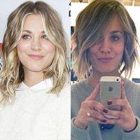 Kaley Cuoco Gets a Choppy Bob Haircut?Take a Look!