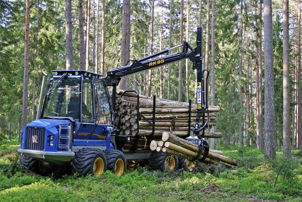 Maskinsupport Europa AB  » Rottne Industrier – Standardinstallation av hydraulikfilter i skogsmaskiner