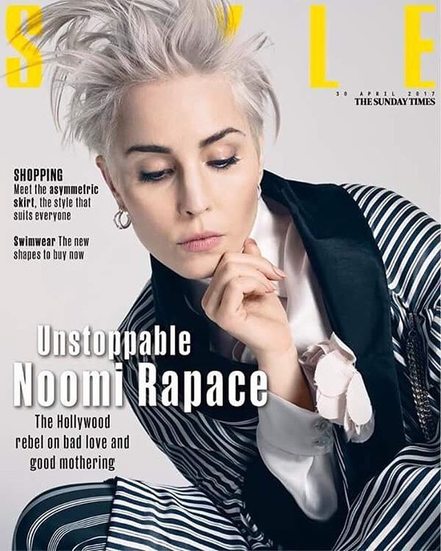 Noomi Rapace for The Sunday Times Style - 30 April 2017