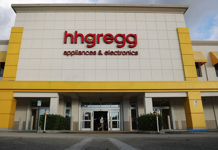 MIAMI, FL - MARCH 02:  A hhgregg electronic and appliance retailer store is seen on March 2, 2017 in Miami, Florida. The company announced plans to close forty percent of their stores, eliminating 1500 jobs, as it goes through a restructuring process.  (Photo by Joe Raedle/Getty Images) via @AOL_Lifestyle Read more: https://www.aol.com/article/finance/2017/03/08/jcpenney-is-shuttering-140-locations-see-if-your-store-is-at/21876449/?a_dgi=aolshare_pinterest#fullscreen