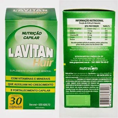 Olá minhas divas, hoje vou falar de mais umnutricosméticoque tem feito a cabeça da mulherada: o  LavitanHair , é comum ir a farmácia...