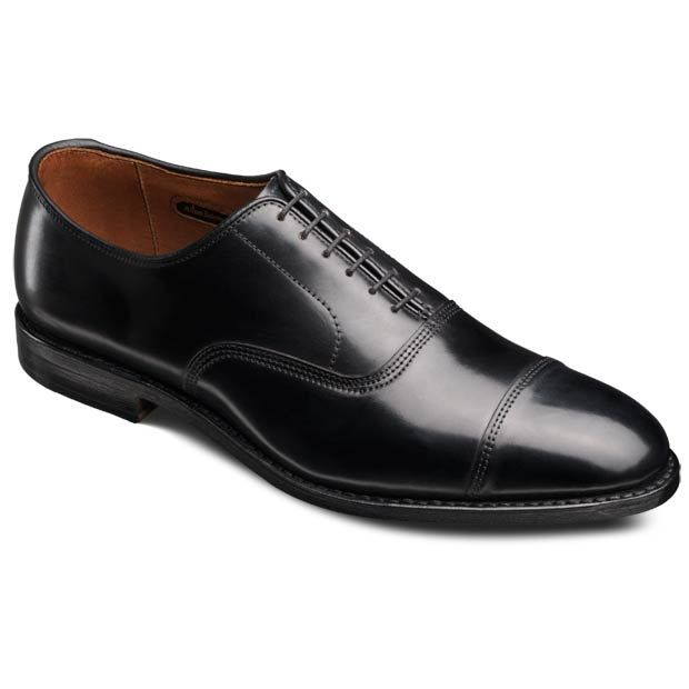 Allen Edmonds Park Avenue Cordovan Oxfords 5805 Black Genuine Shell C