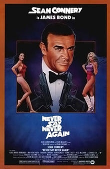 The bookend to the Bond movies starring Sean Connery. A bit tongue in cheek redo of Thunderball