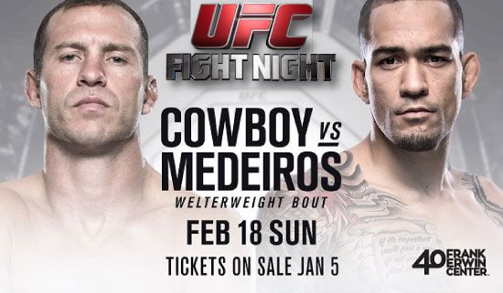 UFC Fight Night: Cerrone vs Medeiros