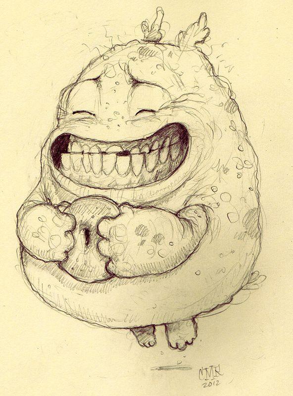 Прикольные рисунки чудовищ