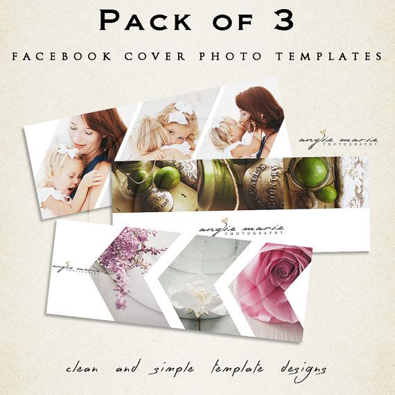 My Facebook Cover Photo Templates are made specifically for your Facebook Timeline Cover.      ● This product comes with 3 files for you to edit