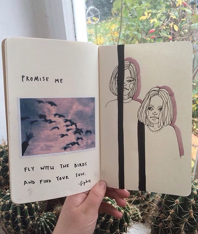 Hipsters Art journal ideas inspiration illustration