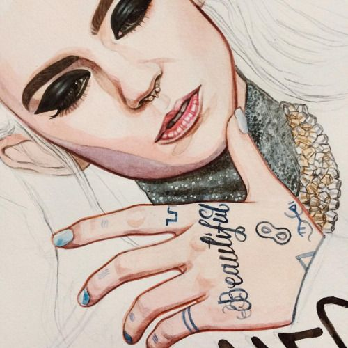Long time no Grimes [drawing]! 🎨👼 (in progress)