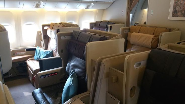 Singapore Airlines Boeing 777-300ER Business Class Seats