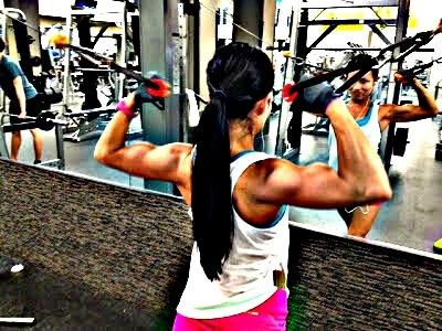 Little b's healthy habits: A Back & Bi Workout