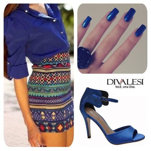 #blue #shoes