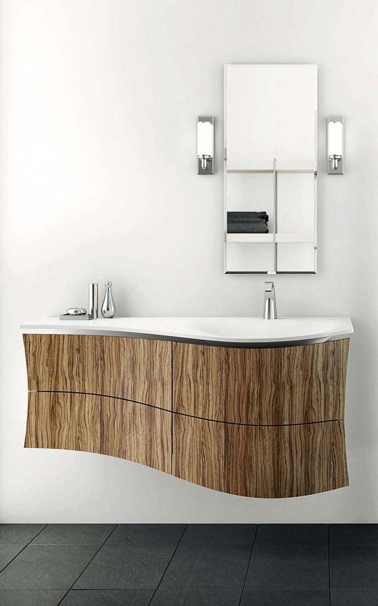 Meuble de salle de bain design : les nouveautés lavabo, miroir, vasque…