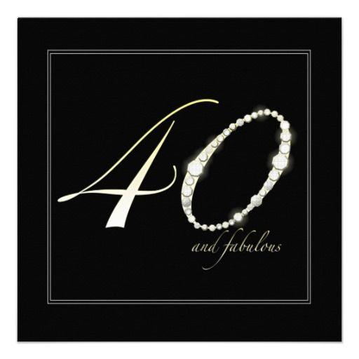21 best 40th birthday invitations wording images on pinterest, Wedding invitations