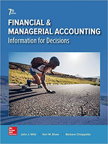 Test Bank Financial And Managerial Accounting 7th Edition By