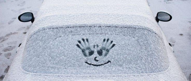 Чтобы стекла в машине не замерзали изнутри
