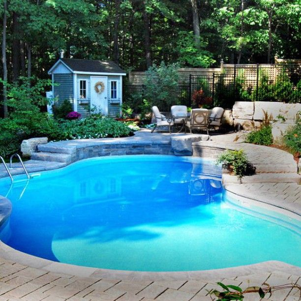 119 Best Inground Pools By Pioneer Family Pools Images On Pinterest Lighting System Blue