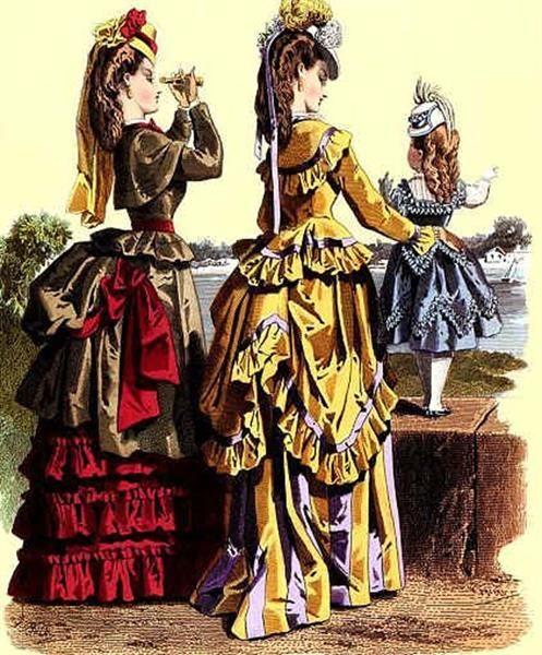 Название элементов женского костюма