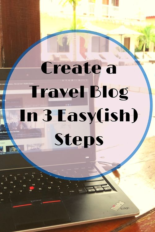 Here is a simple(ish) guide for anyone who wants to set up a travel blog of their own.