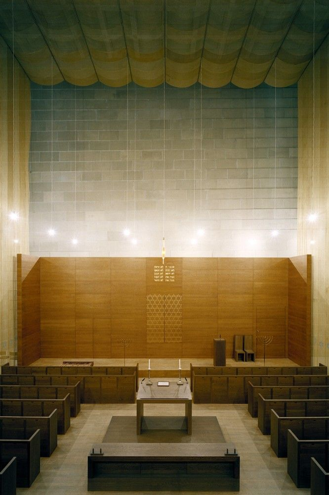 New Synagogue, by Wandel Hoefer Lorch + Hirsch / Dresden, Germany