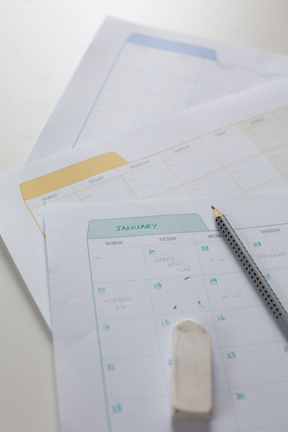 {Freebie} Printable Planner | Fellow Fellow