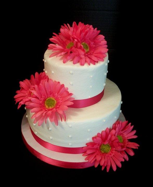 Gerber Daisy Cake Ideas
