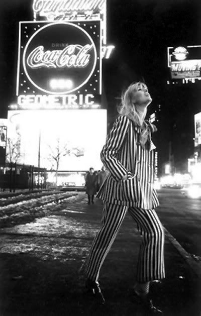 Nico at Times Square