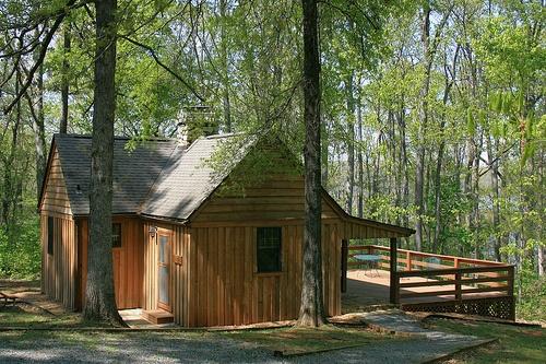 Cabin At Staunton River State Park Va Camping A La