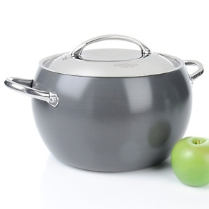 Todd English Hard Anodized By Greenpan 8qt Cerole With Lid At Hsn