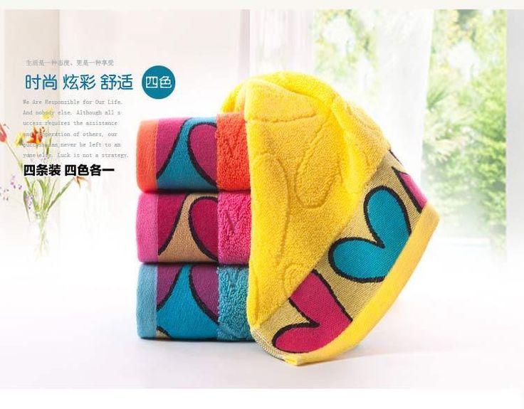 100% Pure Cotton King Shore Bright Color Couples Soft Towel (4 Colors Choice) #KingShore