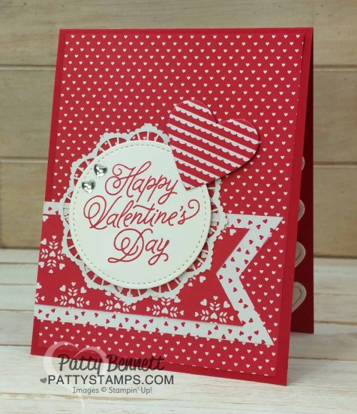 Sending Love Valentine Cards for the Office Guys (Patty's Stamping Spot)
