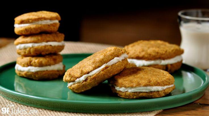 gluten free Little Debbie Cookies on plate - gfJules