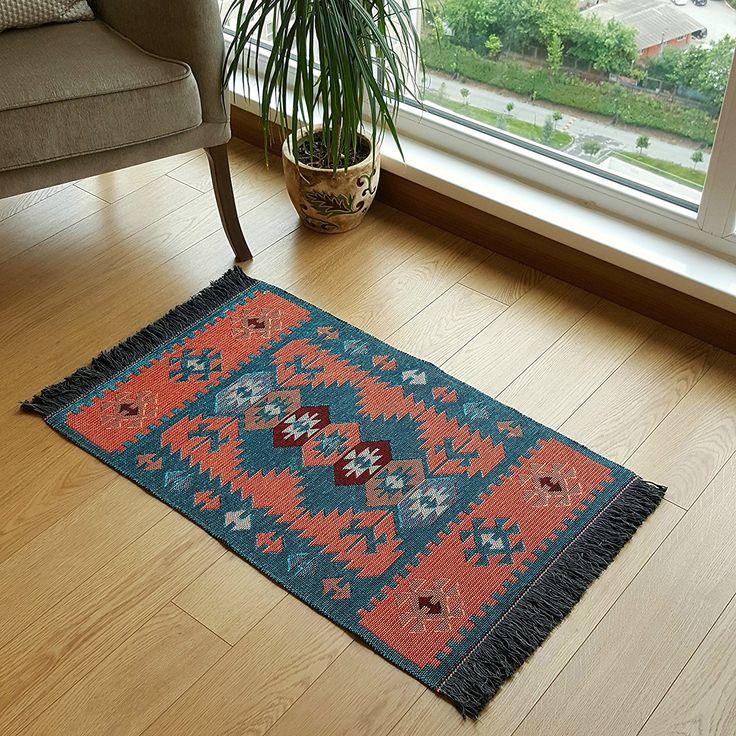 Amazon.com: Modern Bohemian Style Turkish Area Rug, Kilim