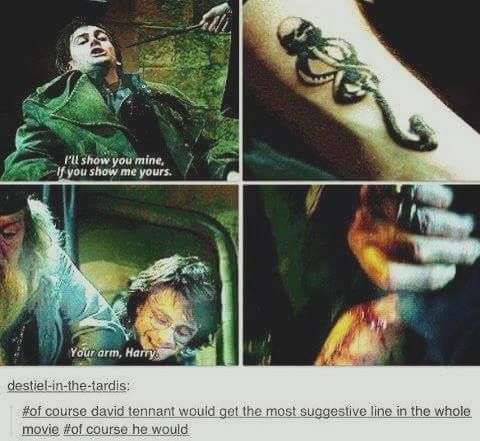 I wish there was more Barty Crouch Jr in the books & movies :(