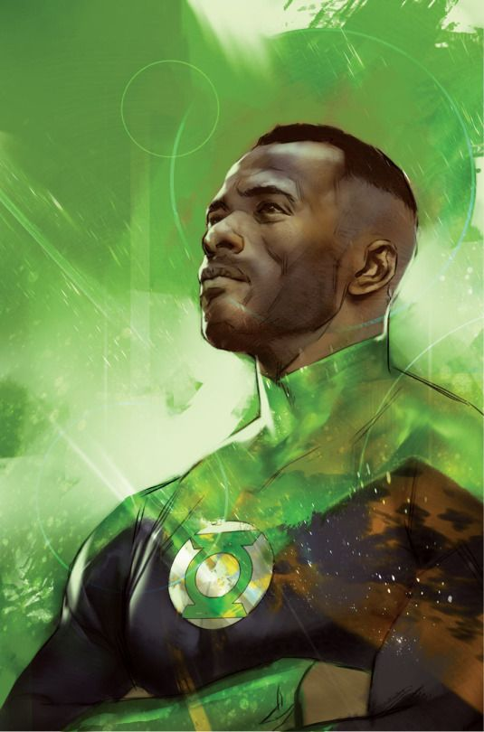 Green Lantern by Ben Oliver #JohnStewart