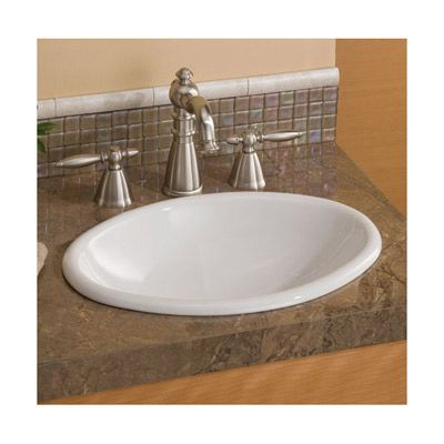 Small Mini Drop In Basin Bathroom Sink By Cheviot CW Home - Oval bathroom sinks drop in for bathroom decor ideas
